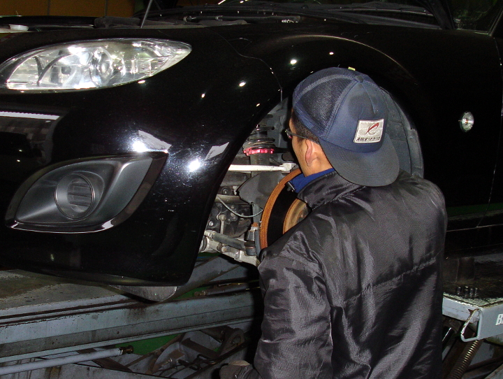 車高調の調整2